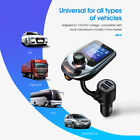 Bluetooth FM Transmitter Dual USB Ports Multifunction Support TF Card ABS