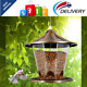 Wild Bird Feeder Hanging for Garden Yard Outside Decoration Antique Dome Shaped photo