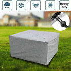 Waterproof Patio Furniture Cover Outdoor Garden Rattan Table Chair Cube Cover Uk