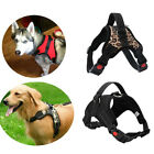 Nylon Puppy Reflective Safety Dog Harness Pet Padded Vest Non Pull Adjustable