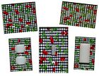 CHERRIES ON BLACK GINGHAM  KITCHEN HOME DECOR LIGHT SWITCH PLATES AND OUTLETS