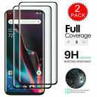 For OnePlus 9 Pro 8T 8 7T 7 Pro Nord Full Cover Tempered Glass Screen Protector