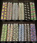 1 pr Colorful Ruffle Replacement Bra Straps 32 34 36 38 A B C BS1005