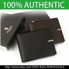 [OMNIA] Crystal MEN'S GENUINE LEATHER WALLET/ID Card Purse MW631S Bifold Wallet