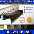 Window Tint UV Solar Film 30x100 Roll car home office A