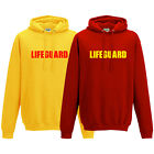 Lifeguard Printed Hoodie - Beach Fancy Dress Life Guard Party Unisex Hoody Top