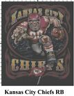 NFL Kansas City Chiefs Mascot cross stitch pattern $16.99 USD on eBay
