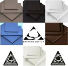 "100% EGYPTIAN COTTON 16"" 40cm EXTRA DEEP Fitted Sheets"