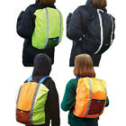 Hi Viz Backpack Cover      Reflective Rucksack Cycling CLEARANCE