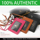 [OMNIA]Korea ID Card Holder Card Case Leather Case Neck Strap KR352 Unisex