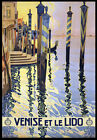 T14 Vintage 1920's Italy Venice Travel Poster A1 A2 A3