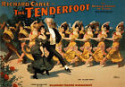 B52 Vintage 1903 Tenderfoot Operatic Musical Theatre Poster A1 A2 A3