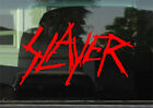 SLAYER 8 INCH  VINYL DECAL / STICKER