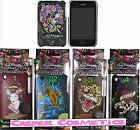 Ed Hardy Tattoo iPhone 3GS Snap-on GENUINE Case Geisha Love Kills Tiger or Ghost