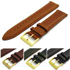 Italian Calf Leather Padded Watch Strap Band 20mm choice of 4 colours