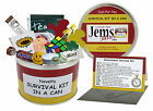 RETIREMENT SURVIVAL KIT IN A CAN. Novelty Gift - Fun Present / Card Leaving Work