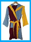 NEW BOYS GIRLS OFFICIAL AVFC ASTON VILLA TOWELLING ROBE GOWN 4-12 year RRP £25