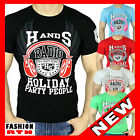 458 T SHIRT NOIR BLANC TURQUOISE VERT ROUGE TAiLLE S M L XL XXL ☆★☆ HOMME NEUF