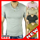 460 -2 T SHIRT COL V GRIS ROSE BEIGE TAiLLE S M L XL XXL ☆★☆ HOMME NEUF