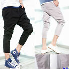 Men slim fit Halen Capri pants short pants 3 colors 4 size
