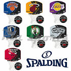 NEW SPALDING ORIGINAL NBA TEAM MINI BASKETBALL KIDS JUNIOR SET BACKBOARD UK