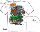 Mopar Rips Rat Fink T shirt Ed Roth Tee Muscle Car Sz M L XL 2XL 3XL Quality New