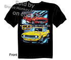 1969 Camaro T-shirt 69 Chevy T Shirts Street Smart Muscle Car Tee M L XL 2XL 3XL