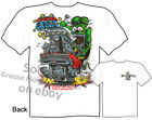 Rat Fink T shirt 1967 67 Chevy Tee Big Daddy T Shirts Cruise USA M L XL 2XL 3XL