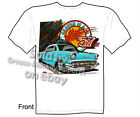 1957 Chevy T shirt Chevrolet T Shirts Bel Air Classic Car Tee, Sz M L XL 2XL 3XL