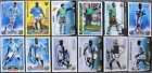 Signed MANCHESTER CITY Cards Match Attax Shoot Out Premier Stars James Jo Weaver