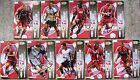 Signed SCUNTHORPE UNITED Cards Panini Byrne Crosby Forte Hayes Murphy Sparrow