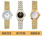 Limit Twilight Stone Set Case Gold Plated Stainless Steel Bracelet Ladies Watch