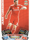 Match Attax 11/12 Liverpool Cards Pick Your Own From List