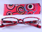 Womens Fashion Colorful READING GLASSES with Cloth Case #5009 + FREE SHIPPING