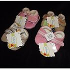 NEW DISNEY BABY BOOTIES PRAM SHOES PINK orBEIGE TIGGER /POOH ~BABY SZ 1-4 BOOTEE