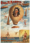 TH68 Vintage Circus Carnival Acrobat Poster A1 A2 A3