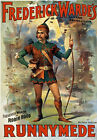 TH94 Vintage Robin Hood Theatre Poster Print A1 A2 A3