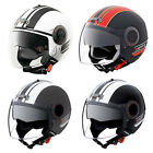 Caberg Riviera V2+ Pure Double Visor DVS Open Face Motorcycle Motorbike Helmet