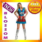 C462 The Simpsons - Duffwoman Deluxe Duffman Beer Adult Costume