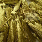 #Gold 12cm Tassel Craft Sewing Curtains Trimming Embellishment T22