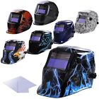 Auto Welding Grinding Darkening Helmet Solar Power Welder Mask Pattern Optional