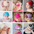 1pc Feather Flower Kids Baby Infant Girl Headband Headwear Hair band Accessories