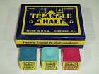 4 x PIECES OF TRIANGLE CHALK AVAILABLE IN VARIOUS COLOURS £1.98 GBP on eBay