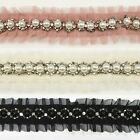 Pearl Ruffled Trim #18 - Women Girls Hair Accessories Clips Headbands Dress Hats