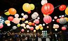 "10X round Chinese paper lanterns lamp 12"" Wedding Party Floral Event decoration"