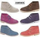 Womans Ladies New Suede Desert Boots Sizes 3 4 5 6 7 8
