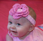 Handmade Baby/Toddler Headband You choose Size 100% cotton