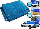 NEW Heavy Duty Tarpaulin Tarp Ground Sheet Waterproof Cover Camping Groundsheet