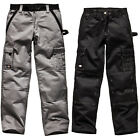 Dickies Workwear Industry 300 Cargo Work Kneepad Trousers 7 Pockets BLACK 30-44