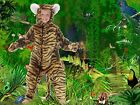 Stripey Tiger full length fancy dress up BNIP 4-12yo Book Week Costume Halloween